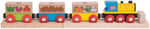 Bigjigs Fruit & Veg Train