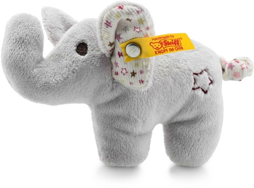 Steiff Éléphant miniature crépitant avec crécelle