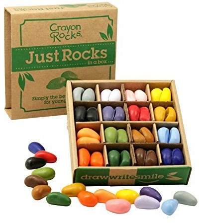 Crayon Rocks  teken en verfspullen box 4 x 16 colors