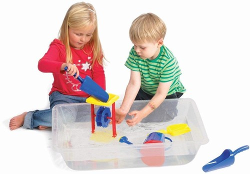 TickiT CLEAR SAND AND WATER TRAY