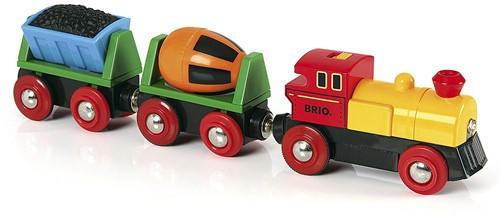 BRIO Train de marchandises avec lumière - 33319