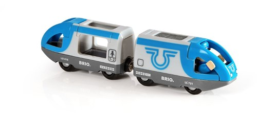 BRIO Train de voyageurs à pile - 33506