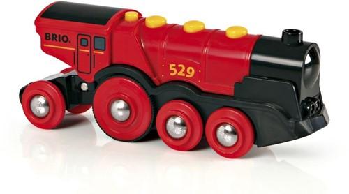 BRIO Locomotive rouge puissante à piles - 33592