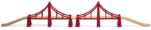 BRIO Double pont suspendu - 33683
