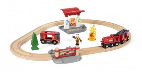 BRIO Circuit pompier lutte contre le feu - 33815