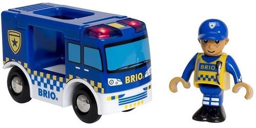 BRIO Camion de police son et lumière - 33825