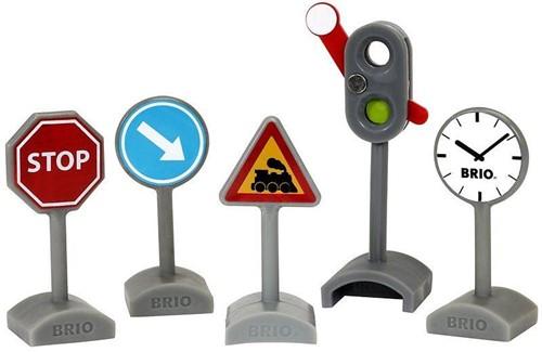 BRIO Panneaux de signalisation - 33864