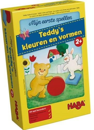 HABA Spel - Mijn eerste spellen - Teddy's kleuren en vormen (néerlandais) = allemand 5878 - français 5975