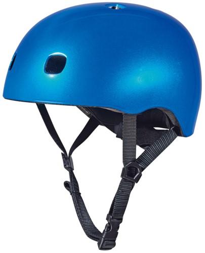 Micro PC Helmet Dark Blue Metallic M