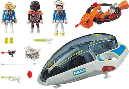 Playmobil Galaxy Police - Galaxy politie glider  70019