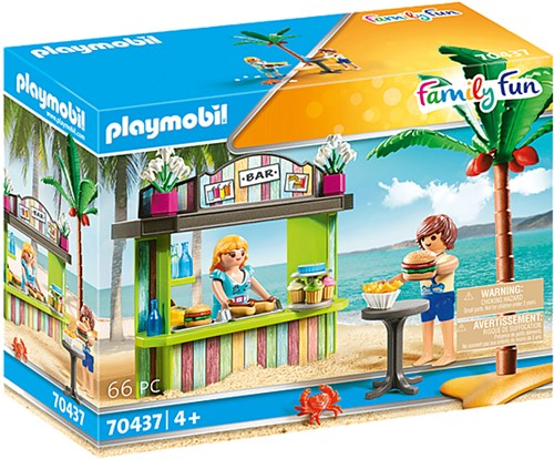 Playmobil Snack de plage - 70437