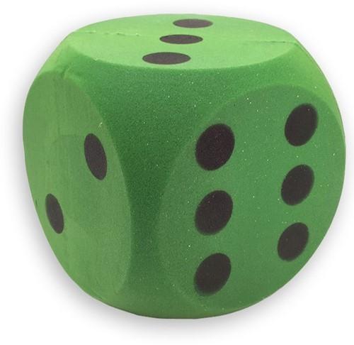 Planet Happy  buitenspeelgoed Foam dobbelsteen groen