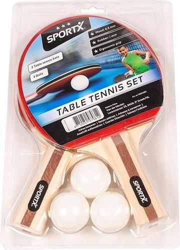 SportX Tafeltennis set incl. Ballen in Blister ***