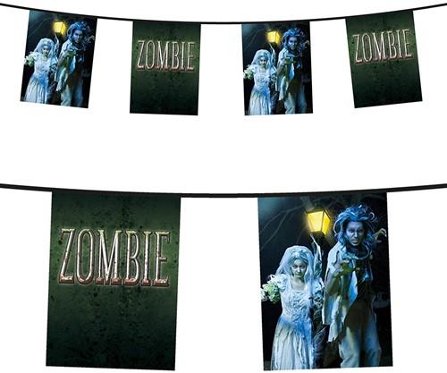 Planet Happy  decoratie Vlaggenlijn zombie dubbelz.6 m