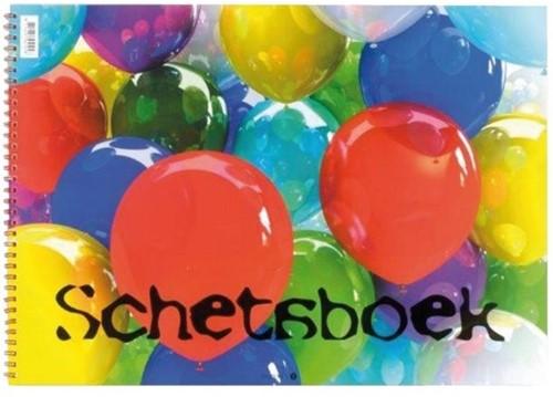 Schetsboek ballon 148x210mm