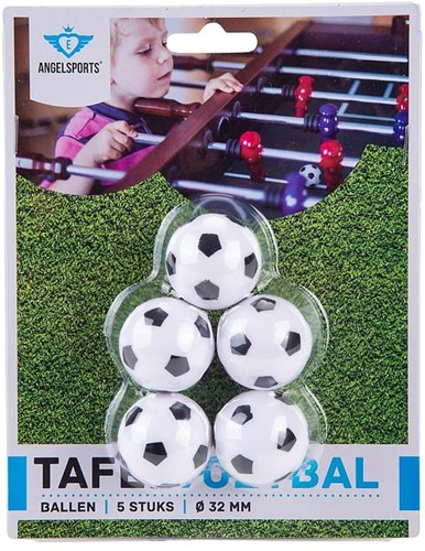 Angel Sports 723021 accessoire de babyfoot Ballon de baby-foot 5 pièce(s)