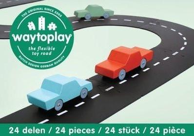 Waytoplay starterset Autoroute - 24 pièces