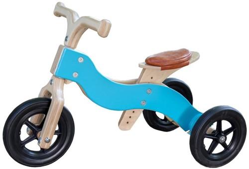 Draisienne en bois tricycle