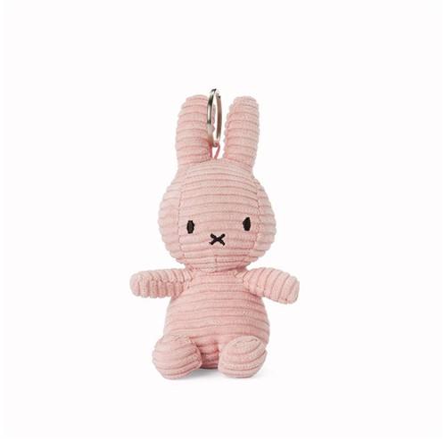 """Miffy Keychain Corduroy Pink - 10 cm - 4"""""""""""