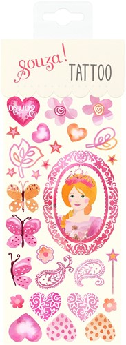 Souza Tattoo Prinses (6 velletjes)