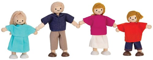 Plan toys Poppenfamilie