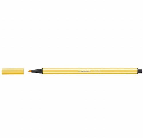 STABILO Pen 68 stylo-feutre Jaune 1 pièce(s)