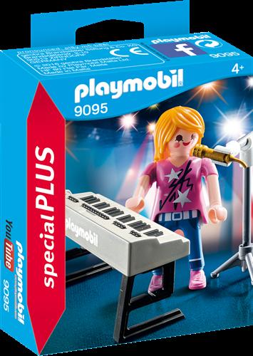 Playmobil Special Plus - Zangeres met keyboard  9095