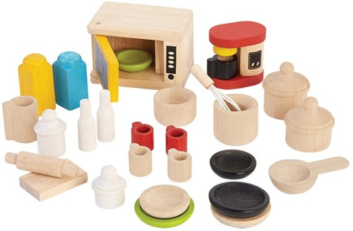 PlanToys Acc. For Kitchen & Tableware Ensemble de meubles