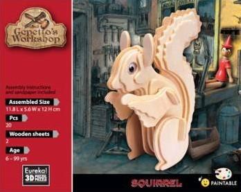 Eureka Gepetto's Workshop - Squirrel