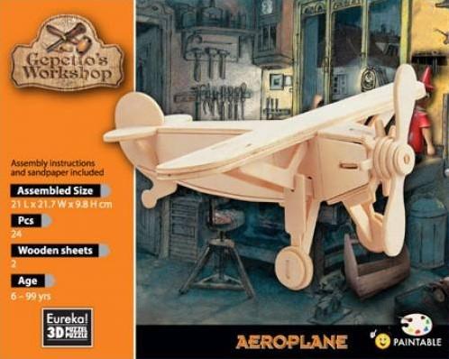 Eureka Gepetto's Workshop - Aeroplane