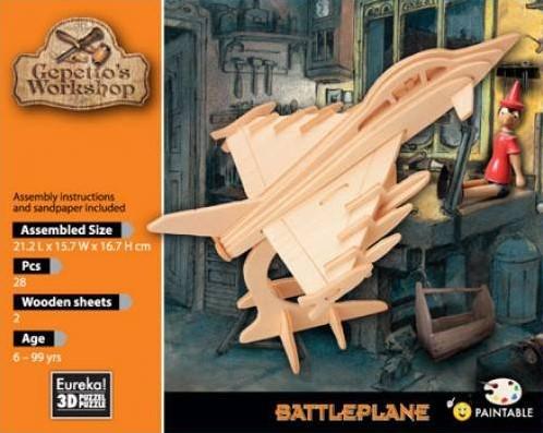 Eureka Gepetto's Workshop - Battleplane