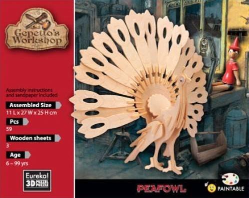 Eureka Gepetto's Workshop - Peafowl