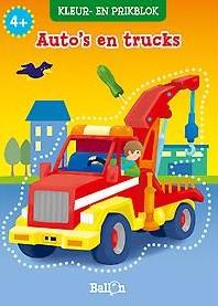 Planet Happy  knutselspullen prikblok auto's en Trucks