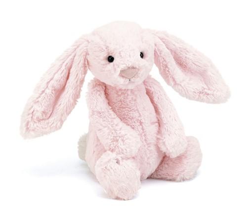 Jellycat Bashful Pink Lapin bébé - 13cm