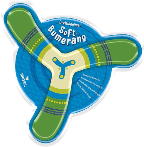 Moses Soft boomerang 3 assorti