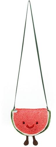 Jellycat Amusant Pastèque Sac - 23cm