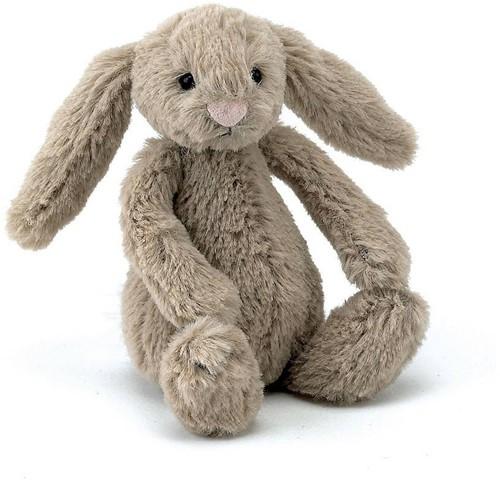 Jellycat Bashful Bunny Beige Bébé - 13 cm