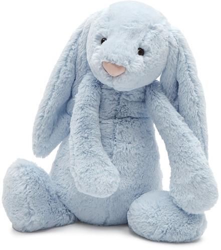 Jellycat Bashful Bleu Lapin Grand - 36cm