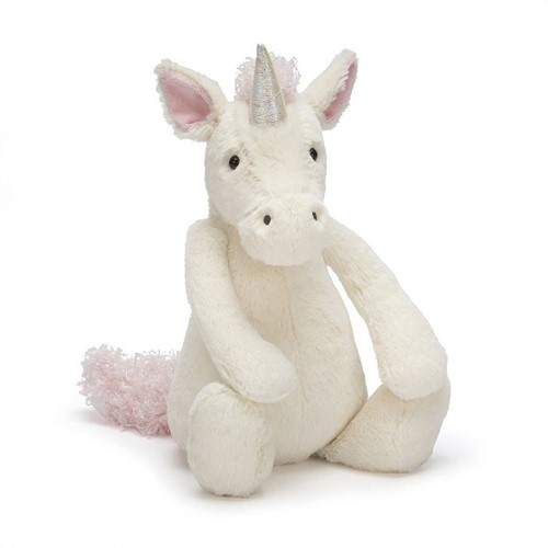 Jellycat  Bashful Unicorn Licorne - 31 cm