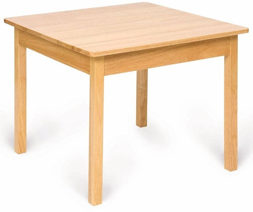 Bigjigs Plain Wooden Table