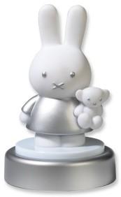 Bambolino Toys Miffy 33197 lumière de nuit pour bébé Autonome Argent, Blanc LED