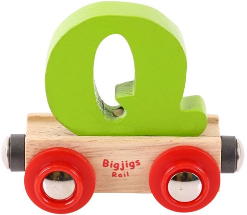 Bigjigs Rail Name Letter Q (6)