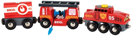 BRIO Train des pompiers - 33844