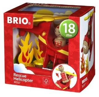 BRIO Hélicoptère de sauvetage - 30337