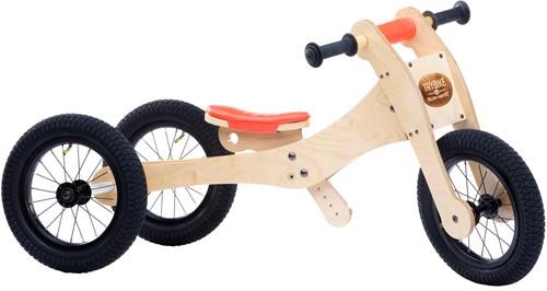 Trybike en bois Draisienne 4 en 1 Orange