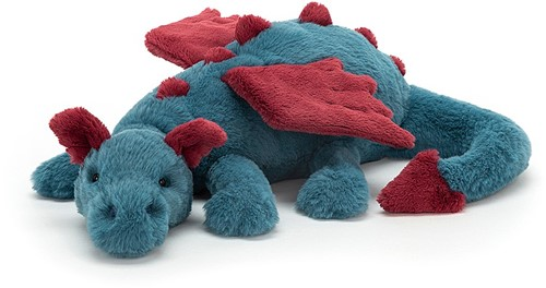 Jellycat Peluche Dexter Dragon 50cm