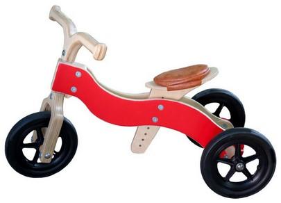 Draisienne 2-1 Dike-Trike rouge
