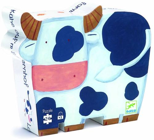 Djeco Les vaches à la ferme - 24 pcs