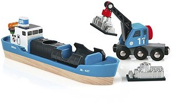 BRIO Navire porte-conteneurs - 33534