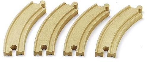 BRIO Grands rails courbes - 170 mm - 33342